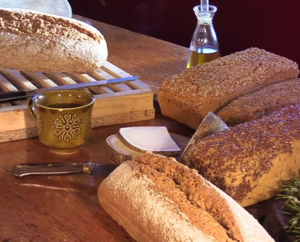 Variedad de panes. Tradicional, sin gluten, con o sin molde