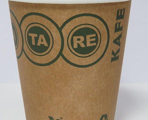 Vaso de carton ecológico. Capacidad para 200 ml