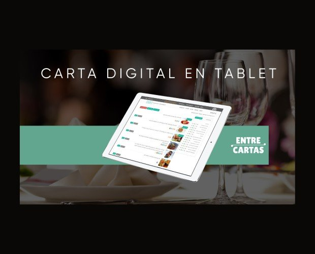 Carta digital en tablet. Diferenciarte de tu competencia