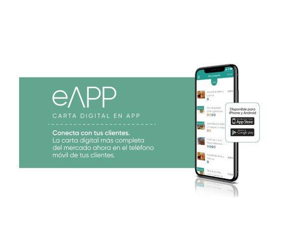 Carta digital para dispositivos móviles. Contacta con tus clientes a través de su móvil