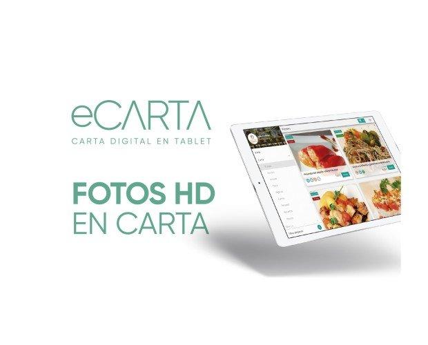 Fotos HD en cartas. Envia a tus clientes notificaciones con ofertas y eventos para lograr que vuelvan