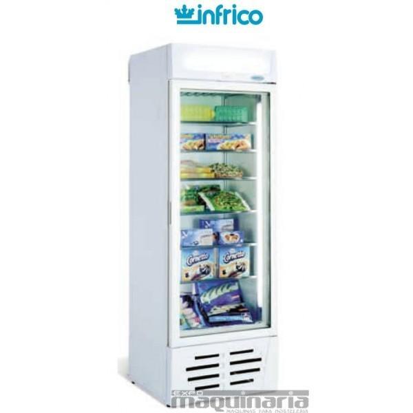 Armario Congelador.Armario expositor para congelados con puerta de cristal