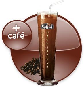 Granizado de café. Preparado concentrado sabor café