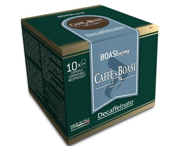Café mezcla descafeinado. Ideal para satisfacer su deseo de espresso sin exceder el consumo de cafeína