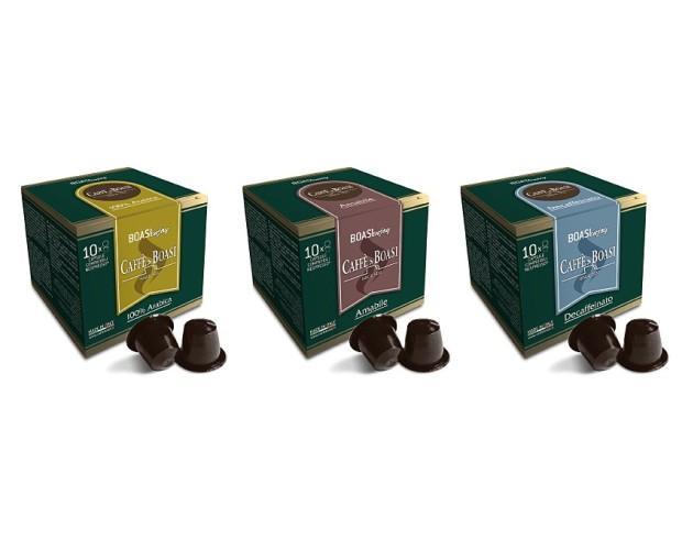 Tres variedades de café. Disponibles en cajas de 10 y 50 piezas