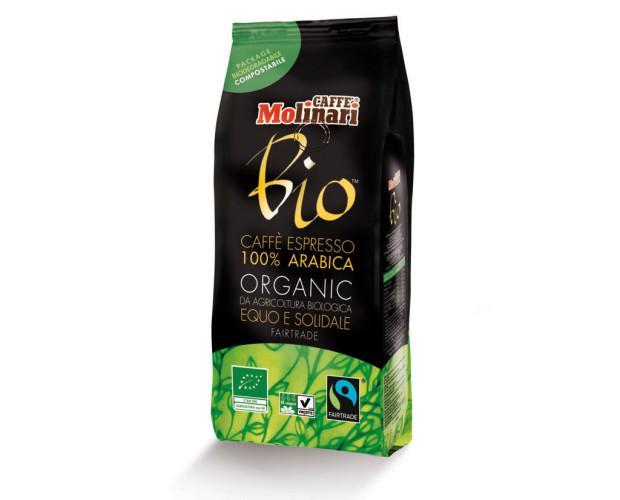 Café espresso orgánico. 100% arábica