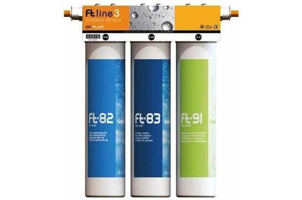 Equipo de filtración de agua. Equipo de filtración de agua FT Line 3.