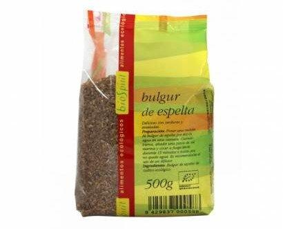 Bulgur espelta. Biospirit presentación de 500 gr