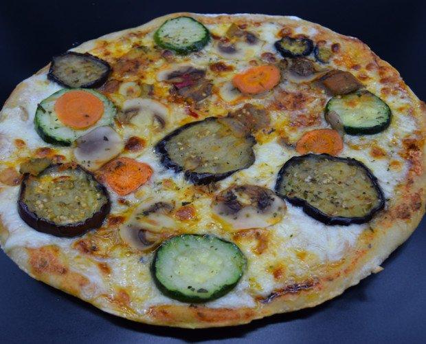 Pizzas Precocinadas.Máximo sabor para vegetarianos