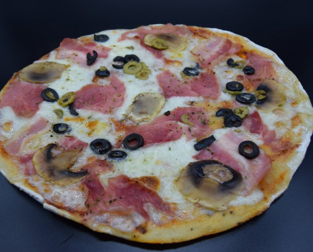 Pizza Reina. Perfecto equilibrio de sus ingredientes