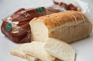 Pan de Molde.Pan cortado listo para consumir