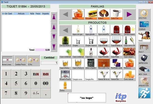 Software de Gestión. De fácil uso para profesionales de hostelería