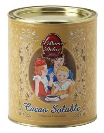 Cacao soluble. Sin Gluten. El Barco Delice