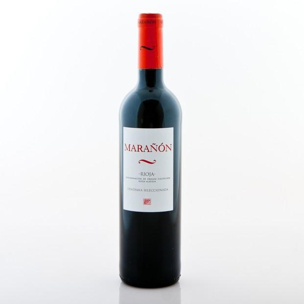 Vino Tinto.Vino Marañón Crianza 2010. D.O. La Rioja Alavesa.