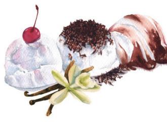 Deliciosos helados. Helados únicos con sabores inigualables