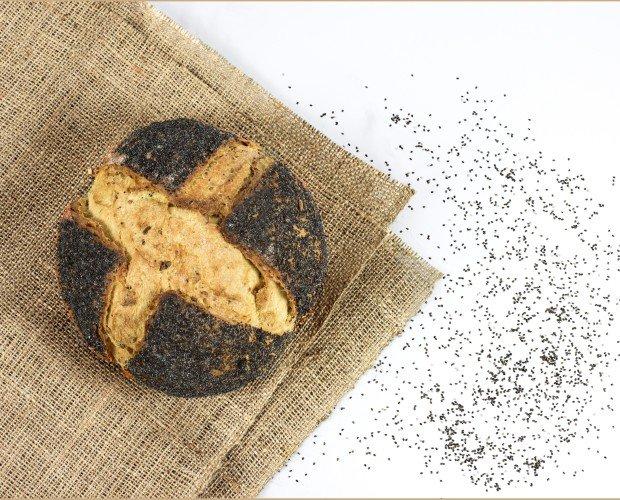 Pan de semillas. Pan especial de semillas