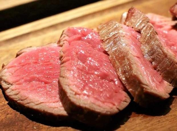 Solomillos. Carne fresca
