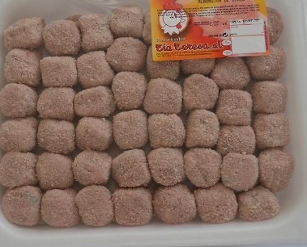 Elaborados Cárnicos. Albóndigas. Formatos 2kg y bandejas de 400 gr