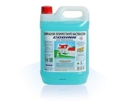 Desinfectacte bactericida. Apto para locales públicos