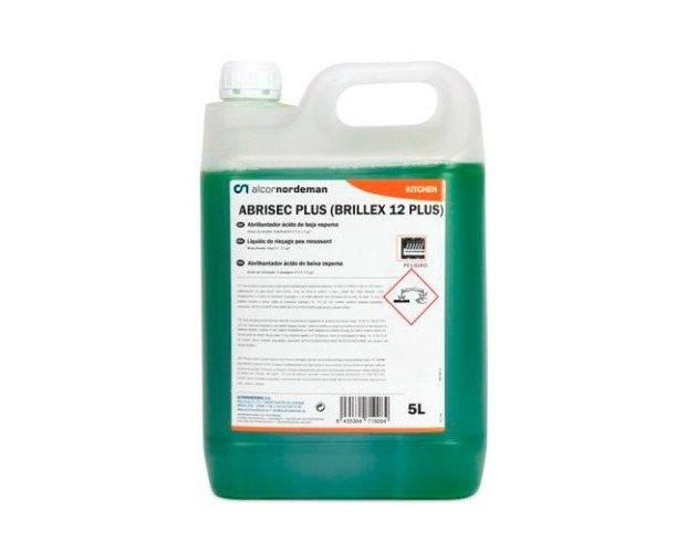 Abrillantadores para Lavavajillas.Producto líquido ácido especialmente formulado para abrillantar vajillas y cuberterías en máquinas automáticas