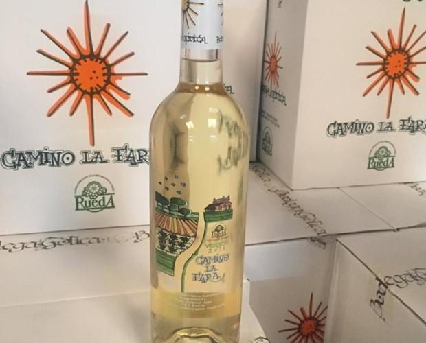 Vino verdejo. Rueda Camino la Fara 2,17€ iva  incluido.