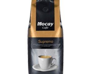 Café Supremo. Arábica lavado 54%, arábica natural 23% y robusta 23%