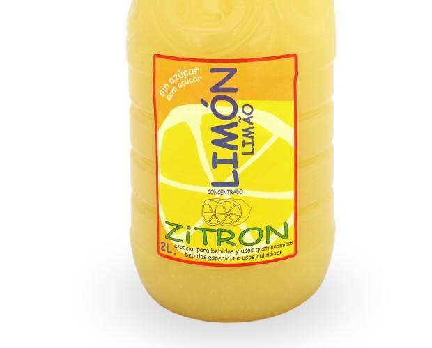 Zumos. Zumos Concentrados. Concentrado de Limón 2l ZiTRON
