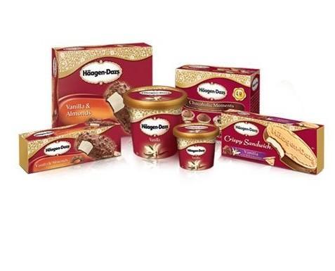Helados Haägen Dazs. Amplia gama de sabores en helados Haägen Dazs