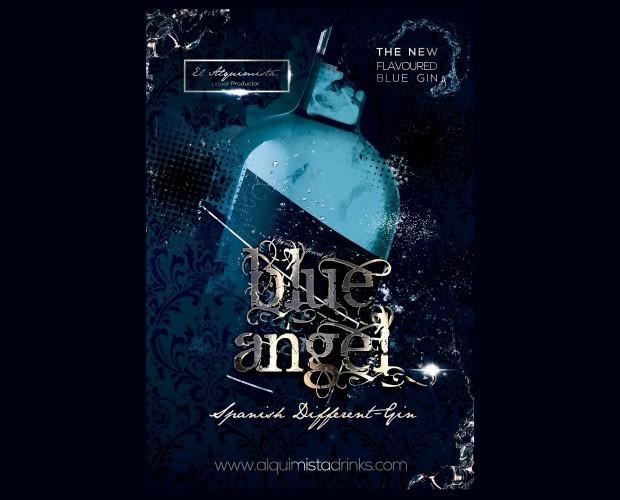 Blue Angel. Ginebra premium