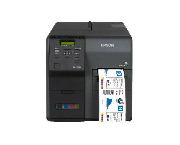 Epson ColorWorks C7500G. Establece nuevos estándares de fiabilidad, alta velocidad e impresión