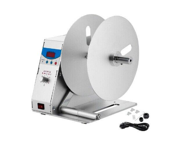 Rebobinador Externo. Cuenta con control automático y función de conteo automático