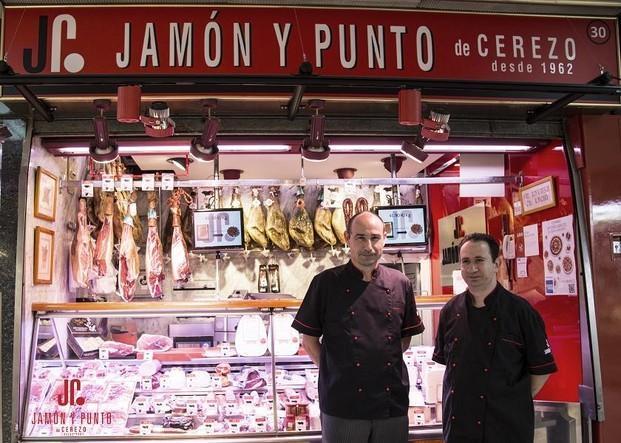 Nuestra tienda. En el Mercado de Chamartín