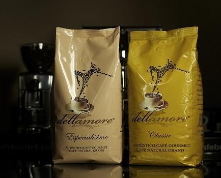 Café dellamore. Nuestras variedades natural y especialísimo