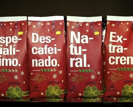 Café navidenos. Todas la variedades de nuestro café burdet