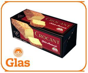 Crocanti Artesanal. En barra, delicioso.