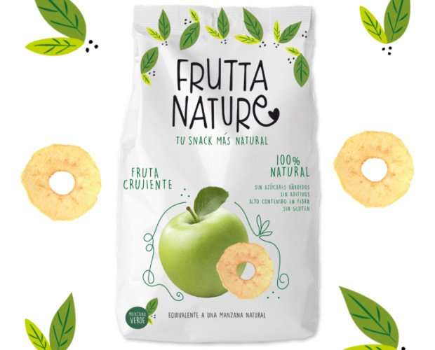 Frutta Nature Manzana Ácida. No podrás parar de devorar cada lámina de nuestra manzana más intensa