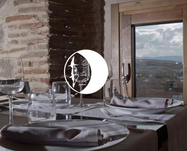 Diseño de páginas web. Página web restaurante La Bruja, ubicado en Ávila