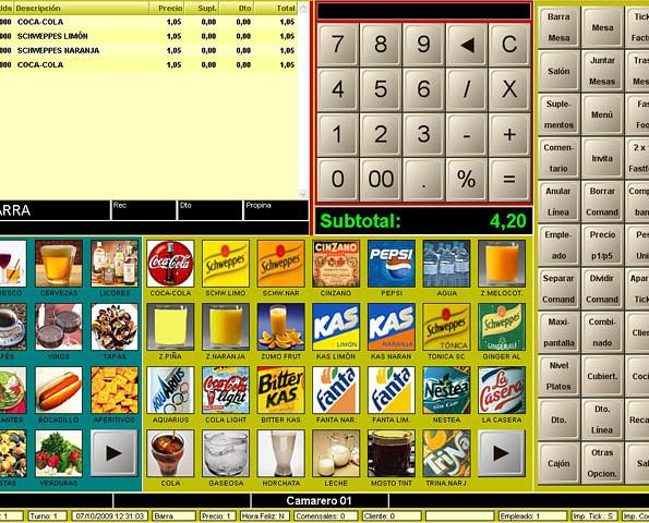 Software para hostelería. La mejor herramienta táctil y de gestión al servicio de su negocio