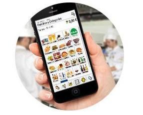 Comandero. Telecomanda compatible con smartphones, tablets para gestión de comandas