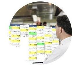 Monitor de cocina. Compatible son Smart TV, tablet, para una gestión ágil de tu cocina