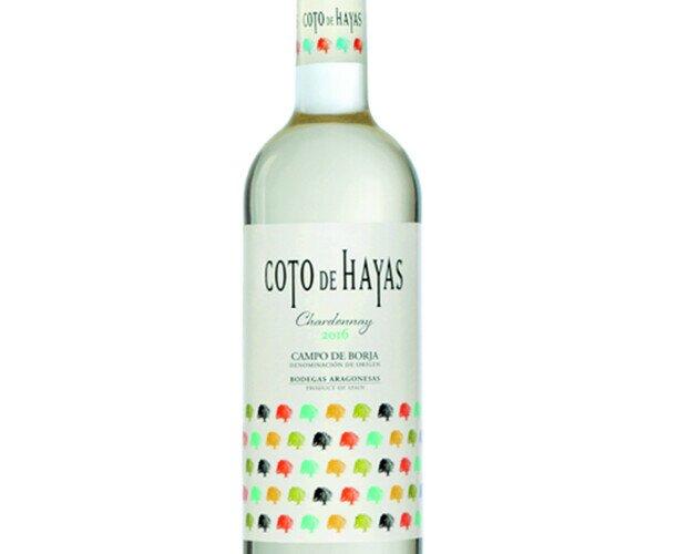Coto de Hayas. D.O. Campo de Borja. 100% Chardonnay