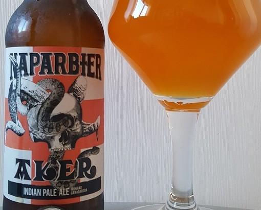 Aker. ´Aker´es la famosa American IPA de NAPARBIER.