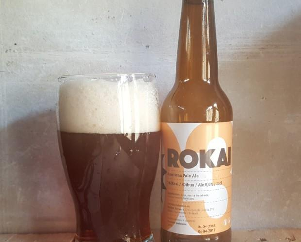 Cerveza Rokai. Refrescante cerveza artesanal vasca