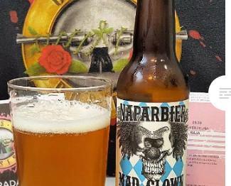 Cerveza Mad Clown. Cerveza extra-pale ale
