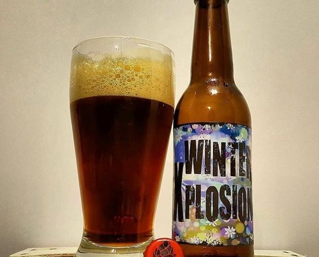Cerveza Winter Xplosion. Cerveza única