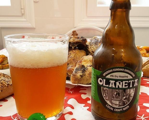 Cerveza Olañeta. Medalla de oro como mejor ipa en España