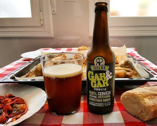 Cerveza Gar&Gar. Cerveza amber sin filtro