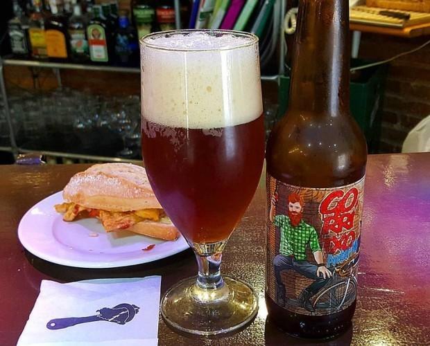 Cerveza Gorritxo. Cerveza ámbar de de Vitoria-Gasteiz