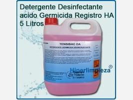 Para bares Detergente desinfectante