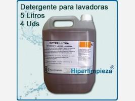 Detergente líquido para lavadoras